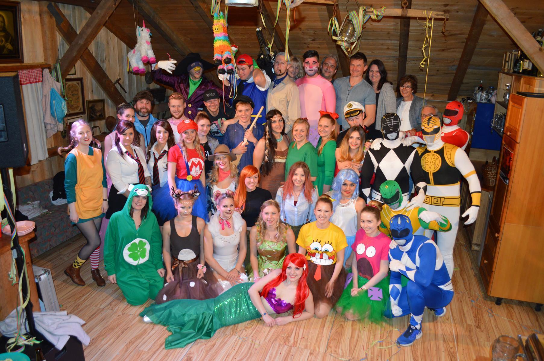 Helden Der Kindheit Der Kindergeburtstag Der Members Members Of Dance